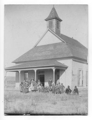 Primary view of object titled 'Tascosa School'.