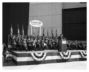 Primary view of object titled 'Secretary Robert McNamara Speaks at the Rollout of the First F-111'.