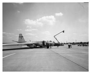 Primary view of object titled 'B-57 F Airplane'.