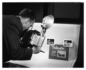 Primary view of object titled '[Ernie Lain Shooting Pictures]'.