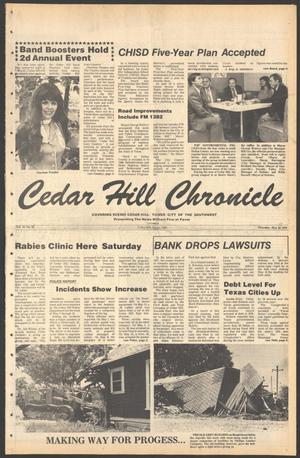 Primary view of object titled 'Cedar Hill Chronicle (Cedar Hill, Tex.), Vol. 15, No. 38, Ed. 1 Thursday, May 17, 1979'.