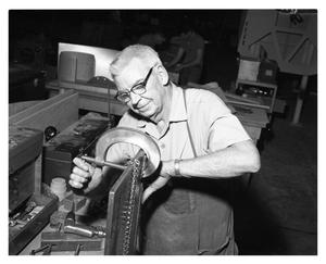 Primary view of object titled 'Hand Tools in Use in F-111 Assembly Plant'.
