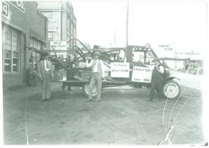 Primary view of object titled '[Kelly Plow Company Truck]'.