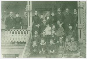 Primary view of object titled '[Brown, Crain and Boring Families]'.
