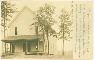 Primary view of object titled '[Judson Schoolhouse of Longview]'.