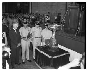 Primary view of object titled 'Mackay Trophy Presentation at Carswell AFB'.