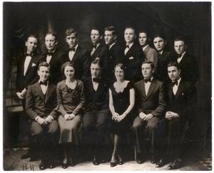 Primary view of object titled '[1934 Weatherford College Glee Club]'.