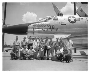 Primary view of object titled 'B-58 #38 Ground Crew'.