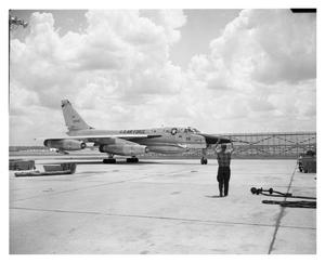 Primary view of object titled '[B-58 #38 Taxing]'.
