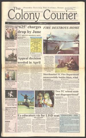 The Colony Courier (The Colony, Tex.), Vol. 1, No. 22, Ed. 1 Thursday, April 9, 1998