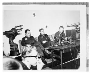 Primary view of object titled 'Press Conference for the Bendix Trophy Winners'.
