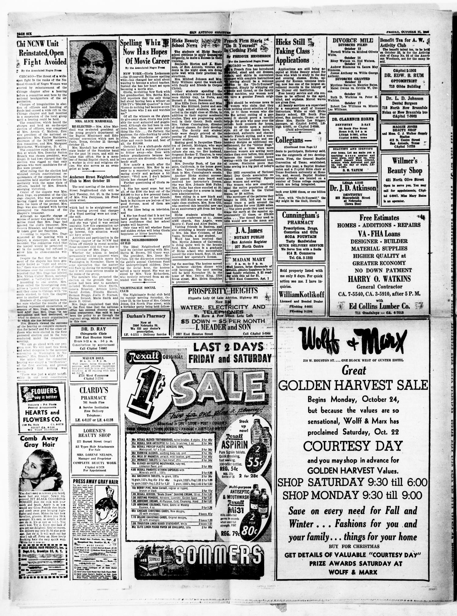 San Antonio Register (San Antonio, Tex.), Vol. 25, No. 37, Ed. 1 ...