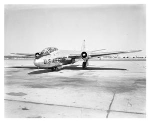 Primary view of object titled 'B-57 Airplane'.