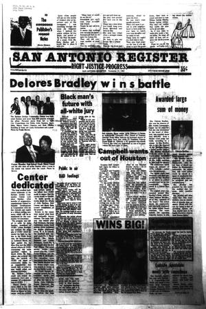 Primary view of object titled 'San Antonio Register (San Antonio, Tex.), Vol. 48, No. 32, Ed. 1 Thursday, November 10, 1983'.