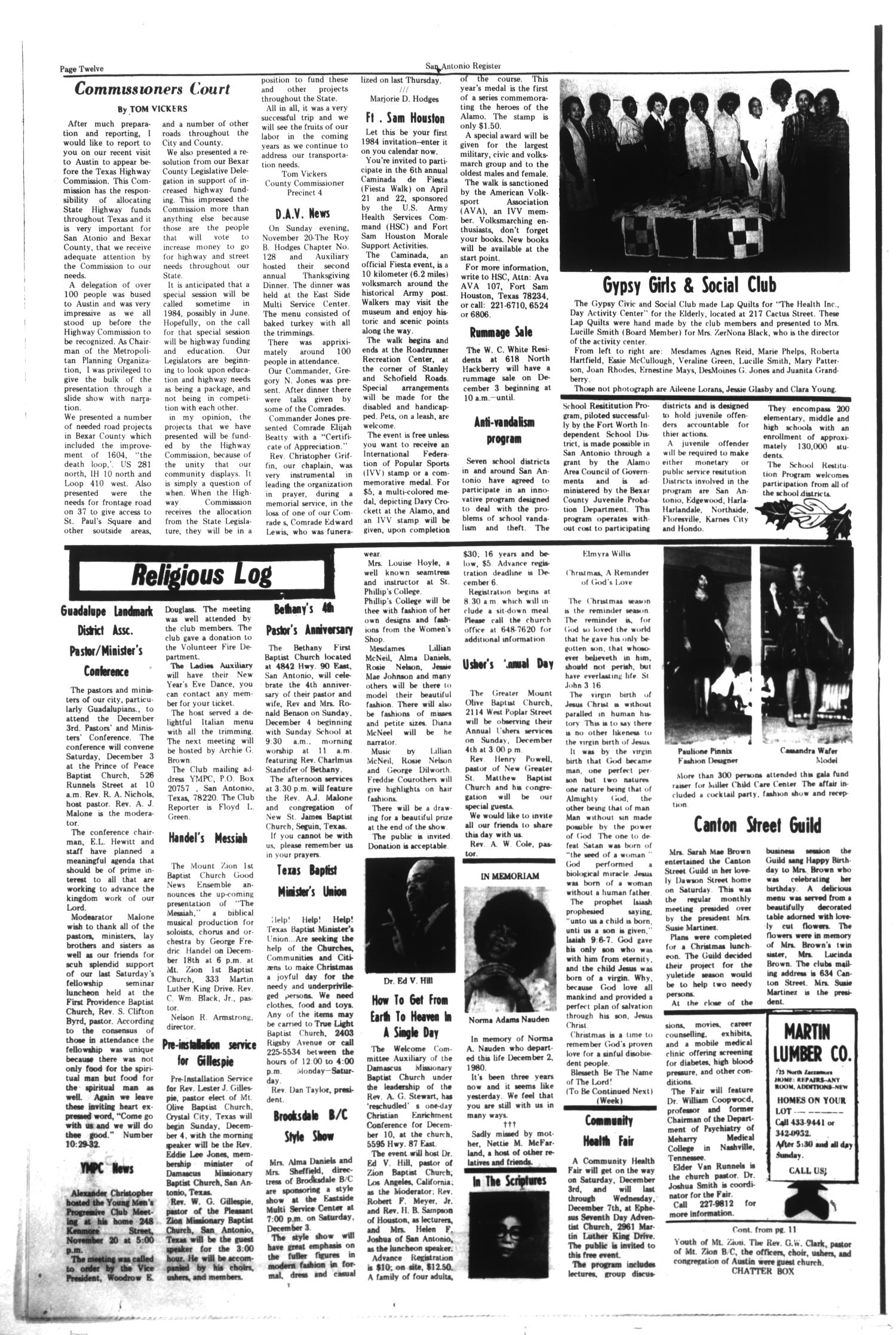 San Antonio Register (San Antonio, Tex ), Vol  48, No  35