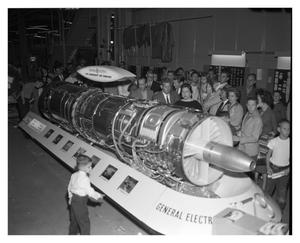 Primary view of object titled 'J79 Aircraft Jet Engine'.