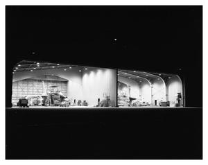 Primary view of object titled 'Two B-58's in Run Stations at Night'.