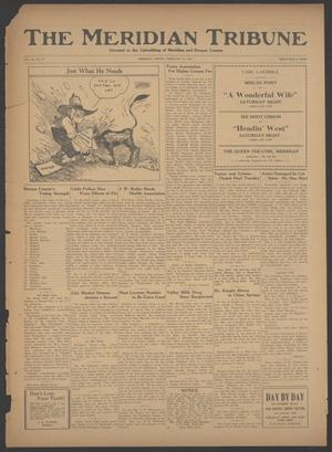 Primary view of object titled 'The Meridian Tribune (Meridian, Tex.), Vol. 28, No. 37, Ed. 1 Friday, February 16, 1923'.
