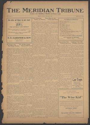 Primary view of object titled 'The Meridian Tribune (Meridian, Tex.), Vol. 38, No. 36, Ed. 1 Friday, February 9, 1923'.