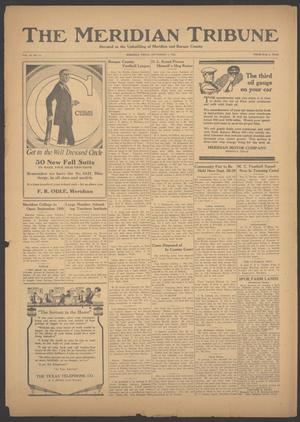 Primary view of object titled 'The Meridian Tribune (Meridian, Tex.), Vol. 30, No. 14, Ed. 1 Friday, September 7, 1923'.