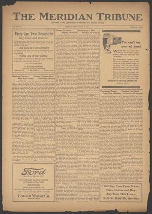 Primary view of object titled 'The Meridian Tribune (Meridian, Tex.), Vol. 30, No. 11, Ed. 1 Friday, August 17, 1923'.