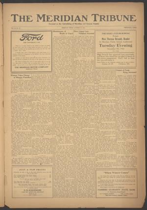 Primary view of object titled 'The Meridian Tribune (Meridian, Tex.), Vol. 28, No. 21, Ed. 1 Friday, October 27, 1922'.