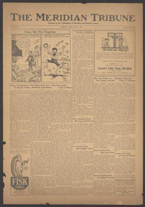 Primary view of object titled 'The Meridian Tribune (Meridian, Tex.), Vol. 29, No. 2, Ed. 1 Friday, June 15, 1923'.