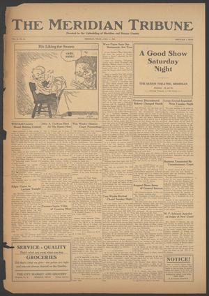 Primary view of The Meridian Tribune (Meridian, Tex.), Vol. 28, No. 44, Ed. 1 Friday, April 6, 1923