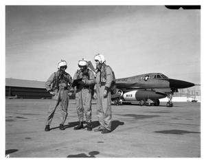 Primary view of object titled 'B-58 Flight Crew'.