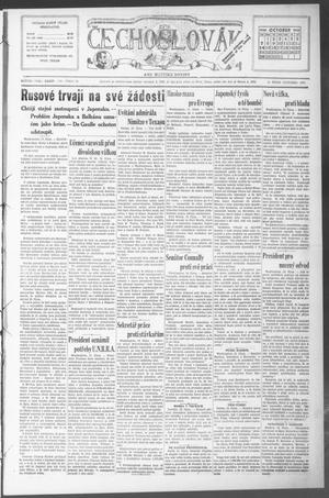 Čechoslovák and Westske Noviny (West, Tex.), Vol. 34, No. 42, Ed. 1 Friday, October 19, 1945