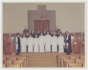 [Congregation Ahavath Sholom Confirmation Class, 1968]