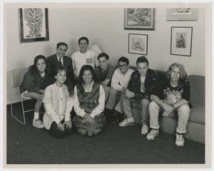 Primary view of object titled '[Congregation Ahavath Sholom Confirmation Class, 1993]'.