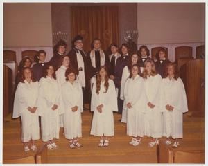 Primary view of object titled '[Congregation Ahavath Sholom Confirmation Class, 1973]'.
