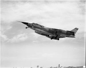 Primary view of object titled 'B-58 Take-Off'.