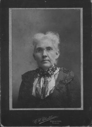 Primary view of object titled '[Archietta Davis Jones as an old woman.]'.
