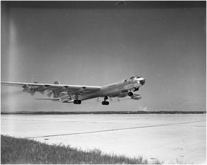 Primary view of object titled 'B-36D #96 Takeoff'.