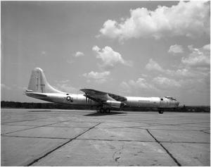 Primary view of object titled 'B-36D #93, Right Side View'.