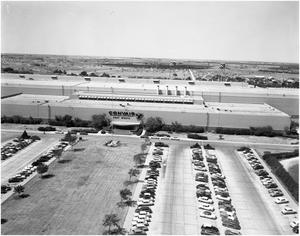 Primary view of object titled 'Aerial View of the Convair Administration Building'.