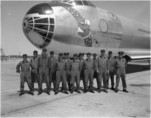 Primary view of object titled 'Flight Crew of Last B-36 #383'.