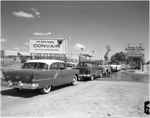 Primary view of object titled 'Convair's Main Entrance'.