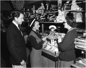 Primary view of object titled 'Mr. and Mrs. Middleton Shop for Toys'.
