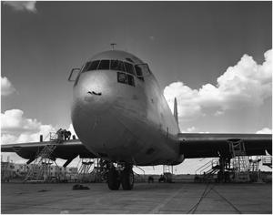 Primary view of object titled 'XC-99 at Kelly Air Force Base'.