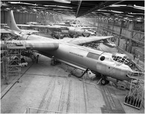 Primary view of object titled 'B-36 Assembly Line'.