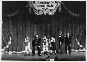 Primary view of object titled '[Photograph of Edwin Drood Skit at Sing]'.