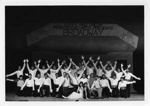 Primary view of object titled '[Photograph of Broadway Skit at Sing]'.