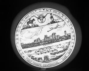 Primary view of object titled 'Anniversary Dinner Plate'.