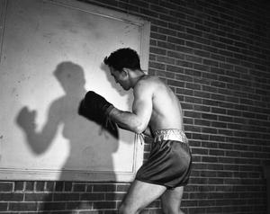 Primary view of object titled '[Ray Woode Shadow Boxing]'.