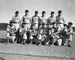 Primary view of object titled '[CVAC Baseball Team]'.