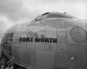 Primary view of object titled '[Nose of a B-36A #3]'.