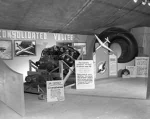 Primary view of object titled '[Convair Exhibit at Fat Stock Show]'.